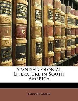 Spanish Colonial Lit...