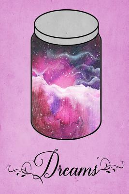 Dream Journal - Pink Watercolor Dream Jar