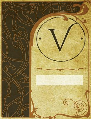 "Monogram ""V"" Sketchbook"