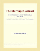 The Marriage Contract (Webster's Japanese Thesaurus Edition)