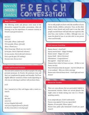 French Conversation (Speedy Study Guide)