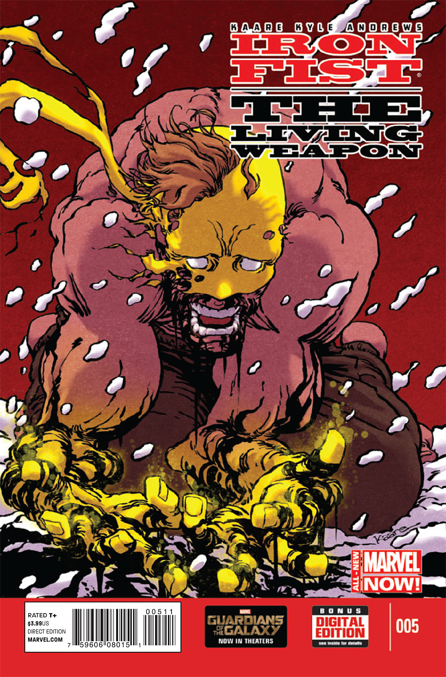 Iron Fist: The Living Weapon Vol.1 #5