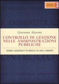 Controllo di gestione nelle amministrazioni pubbliche