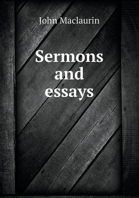 Sermons and Essays