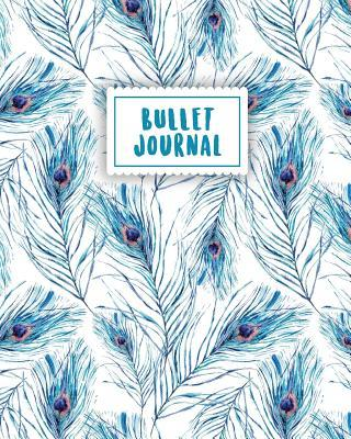 Bullet Journal Blue Peacock Feather