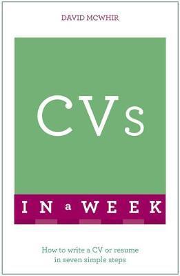 Teach Yourself CVs in a Week