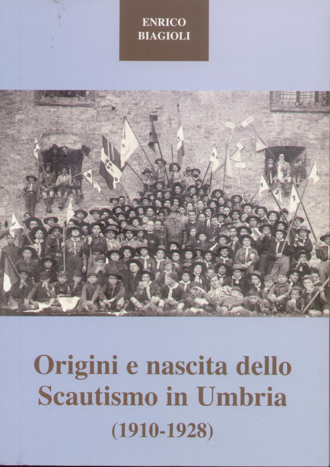 Origini e nascita dello scautismo in Umbria