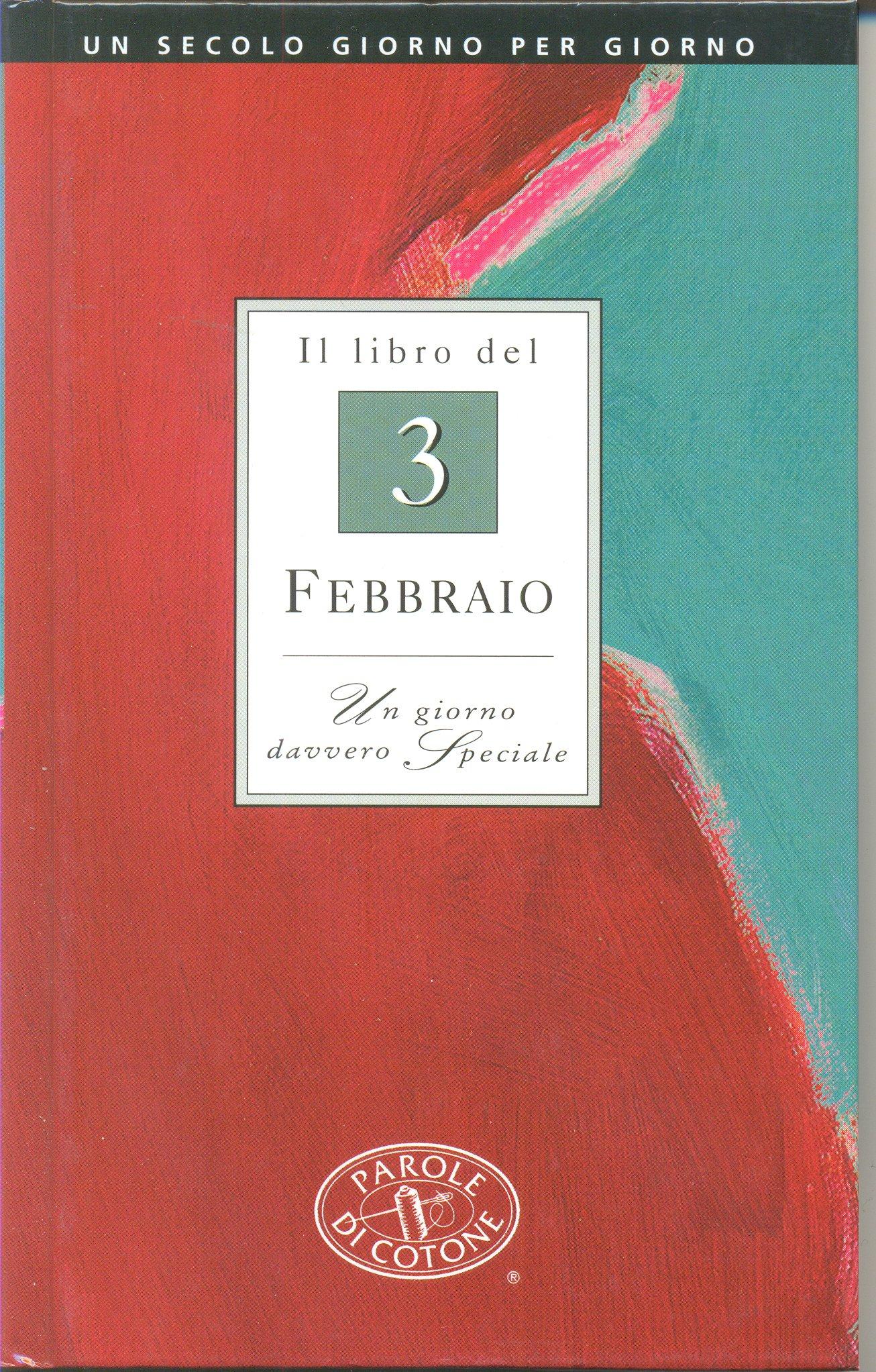 Il libro del 3 febbraio