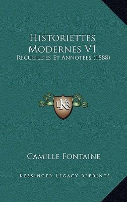 Historiettes Moderne...