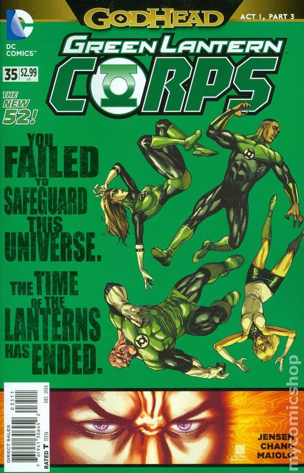Green Lantern Corps Vol.3 #35