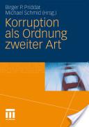 Korruption ALS Ordnung Zweiter Art