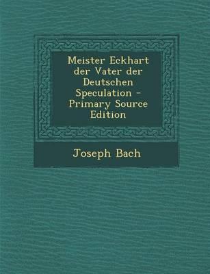 Meister Eckhart Der ...