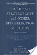 Shpol'skii spectroscopy and other site-selection methods