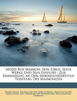 Moses Ben Maimon
