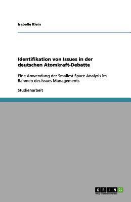Identifikation von Issues in der deutschen Atomkraft-Debatte