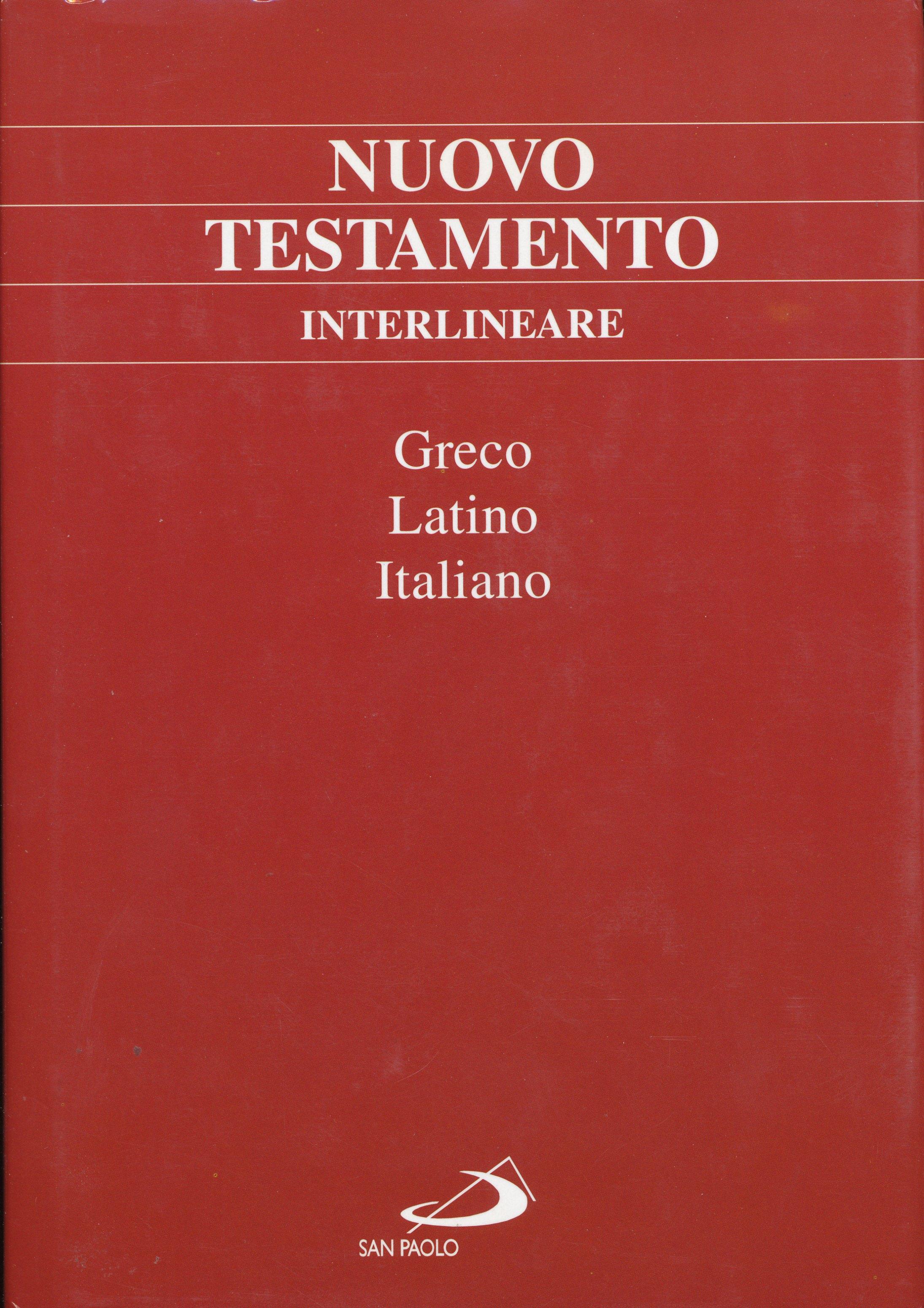 Nuovo Testamento interlineare