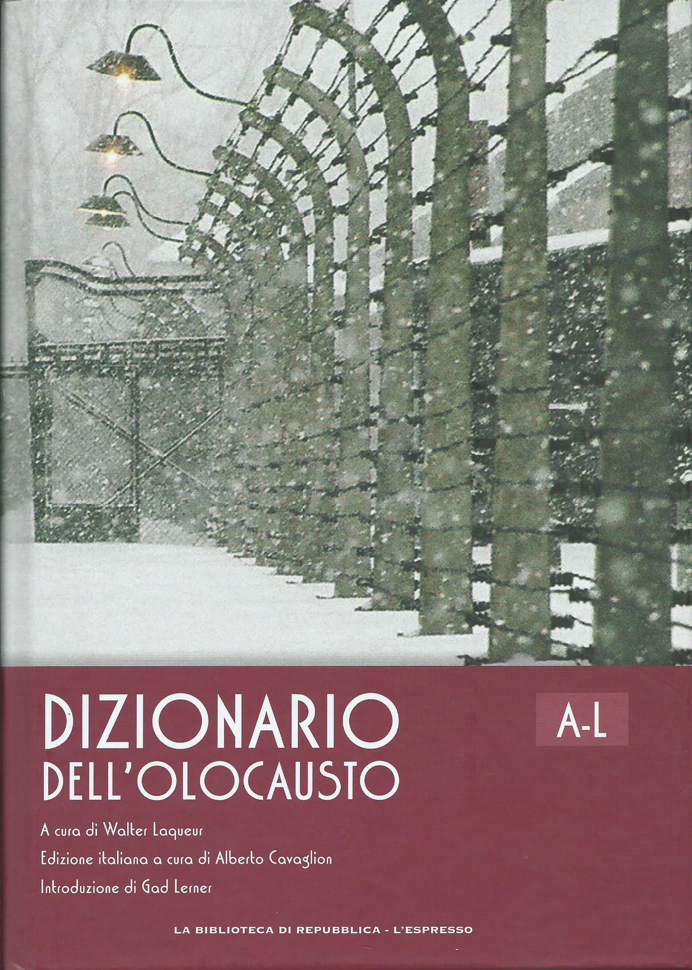 Dizionario dell'Olocausto A-L