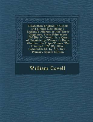 Elizabethan England in Gentle and Simple Life