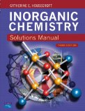 Solutions Manual Inorganic Chemistry 3e for Housecroft Inorganic Chemistry 3e