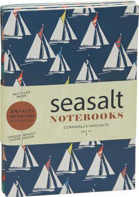 Sea Salt - Sailaway Large Notebooks