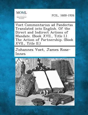 Voet Commentarius Ad...