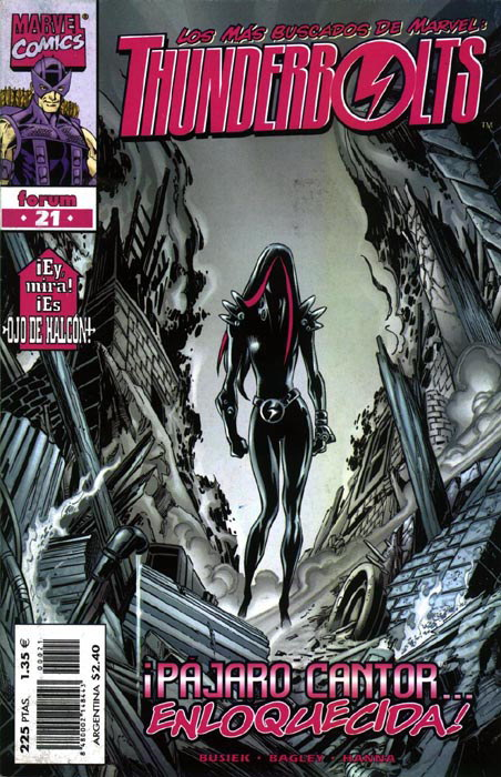 Thunderbolts Vol.1 #21 (de 40)