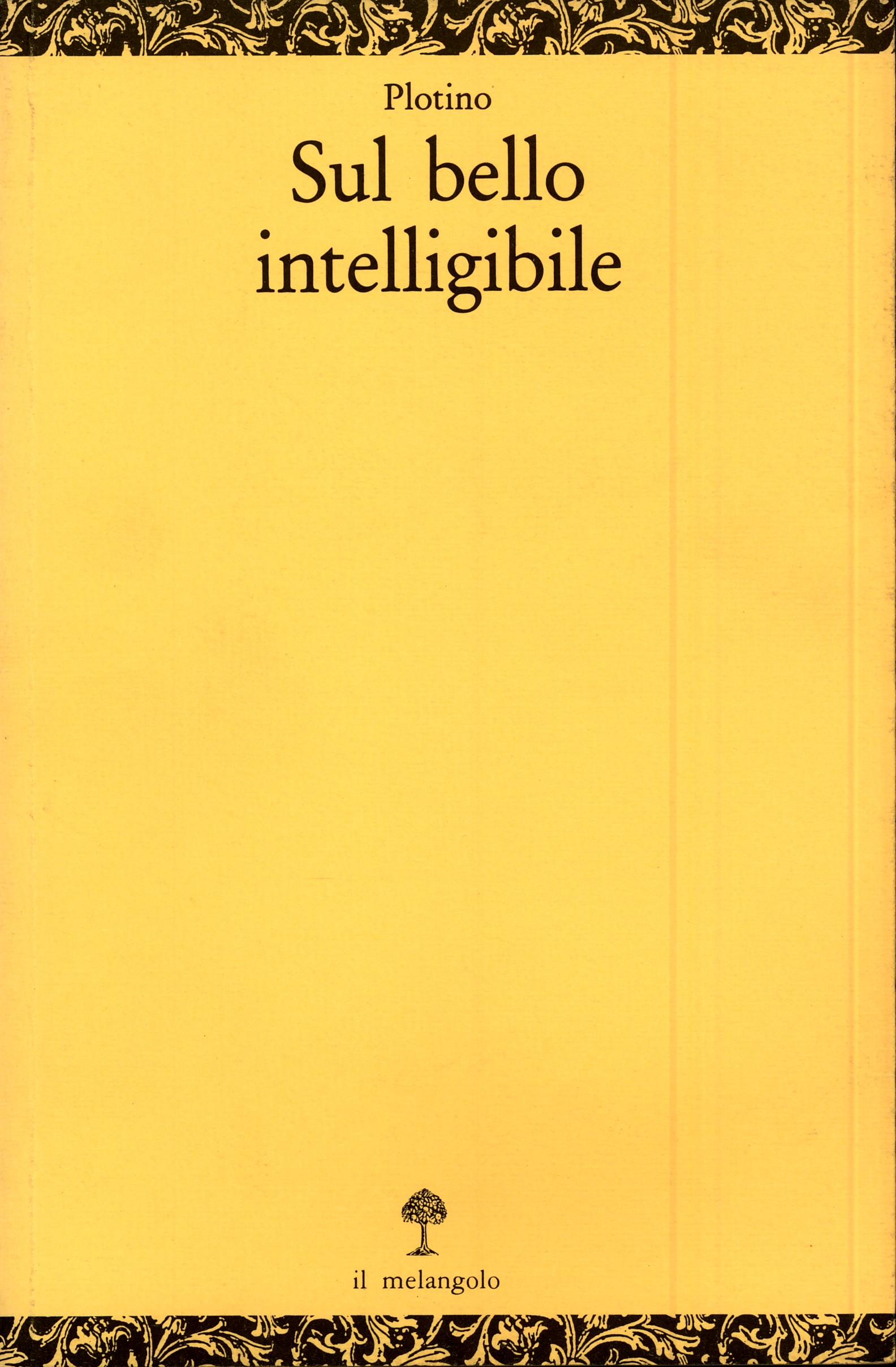 Sul bello intelligib...