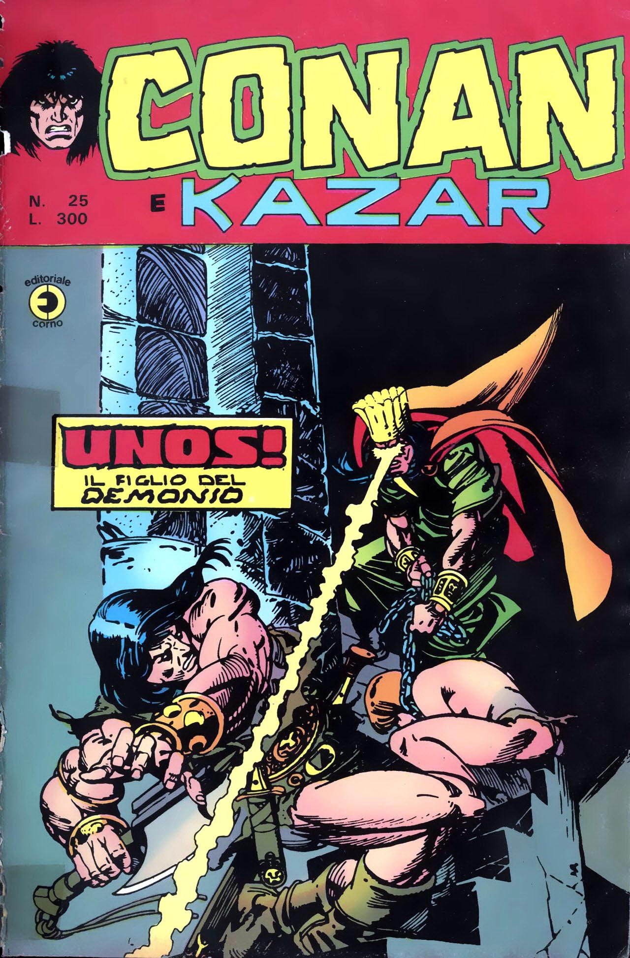 Conan e Ka-zar n. 25