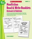 Nonfiction Read & Write Booklets