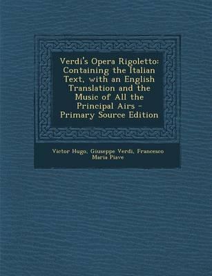 Verdi's Opera Rigoletto