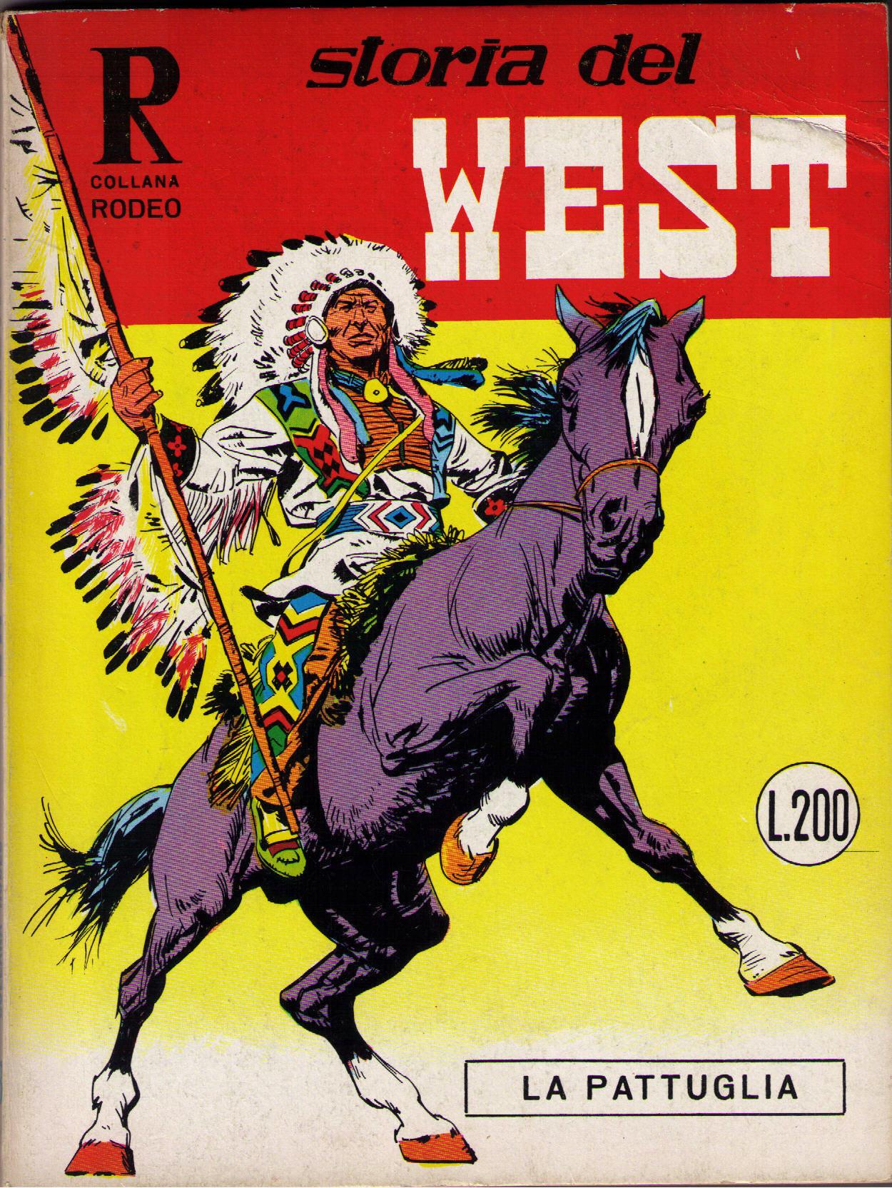 Storia del west n. 8 (collana Rodeo n. 13)
