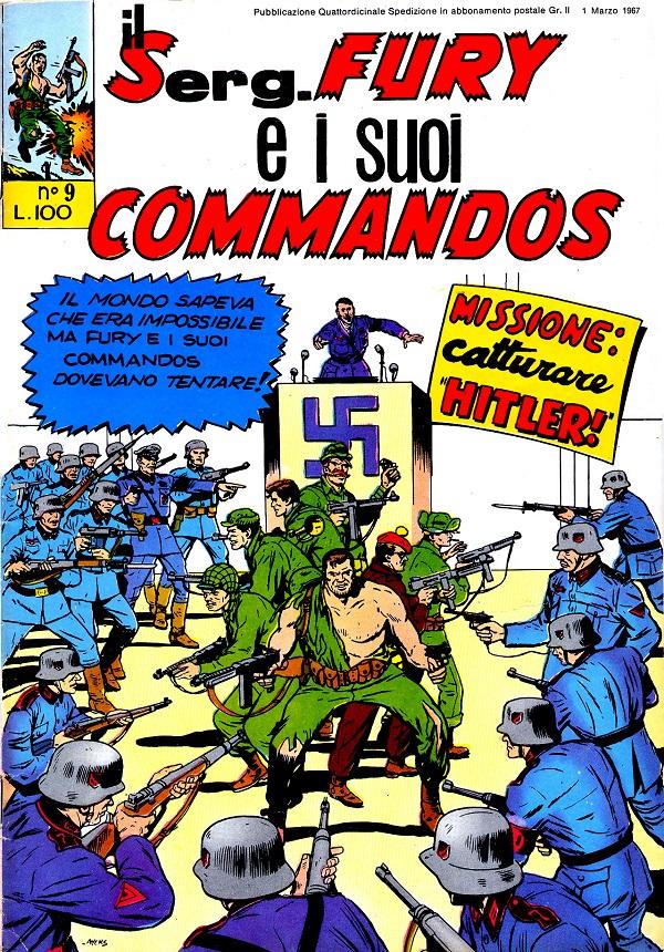 Il serg. Fury e i suoi commandos n. 9