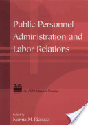 Public Personnel Administration And Labor Relations