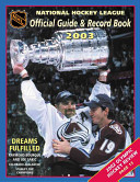 The National Hockey League Official Guide and Record Book