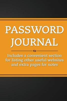 Password Journal (Orange Tang)