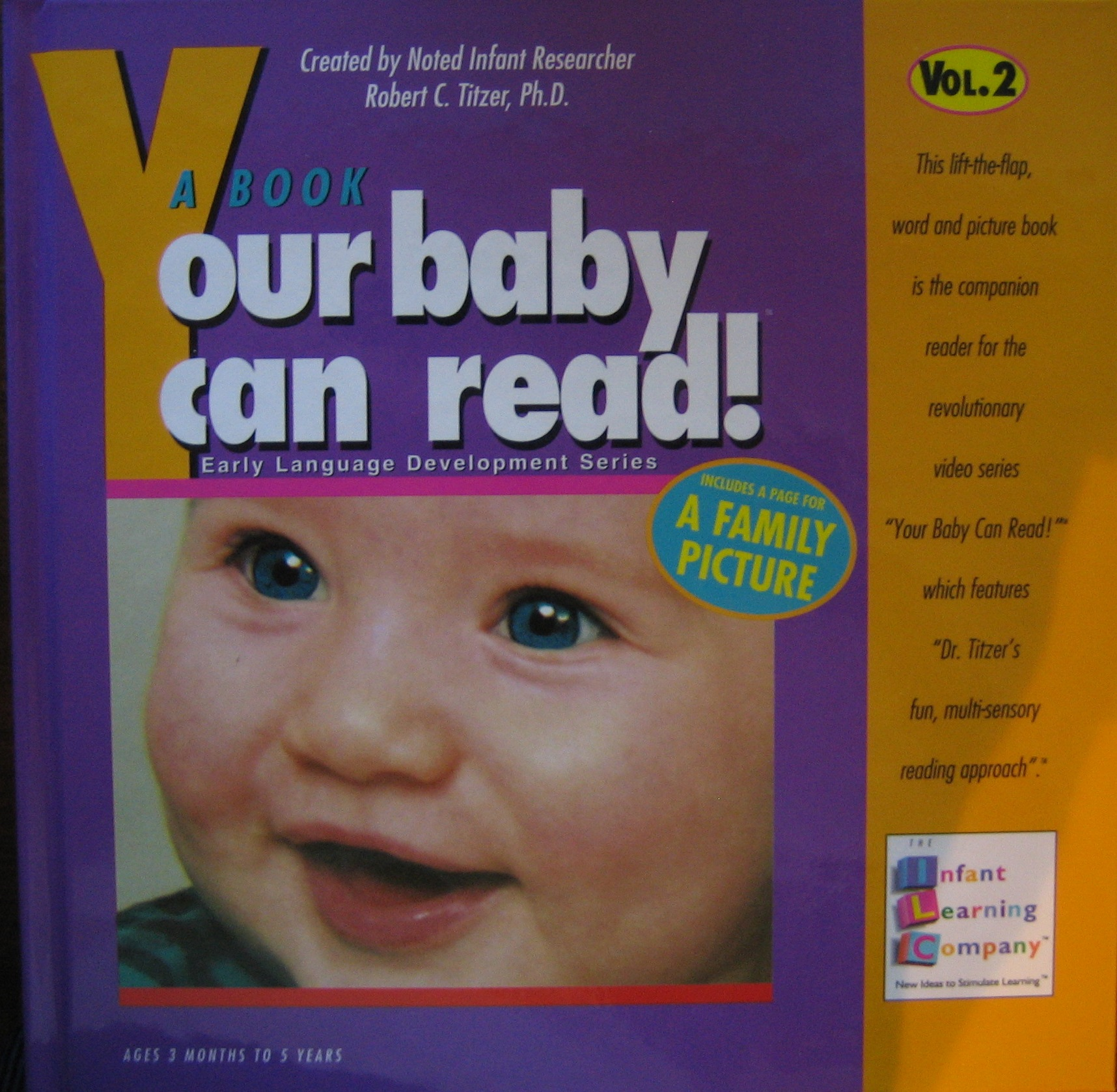 A Book Your Baby Can Read!--Vol. 2