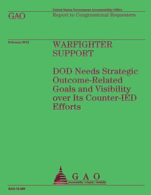 Warfighter Support Dod Needs Strategic Outcome-related Goals and Visibility over Its Counter-ied Efforts