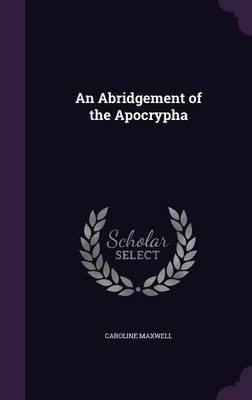 An Abridgement of the Apocrypha