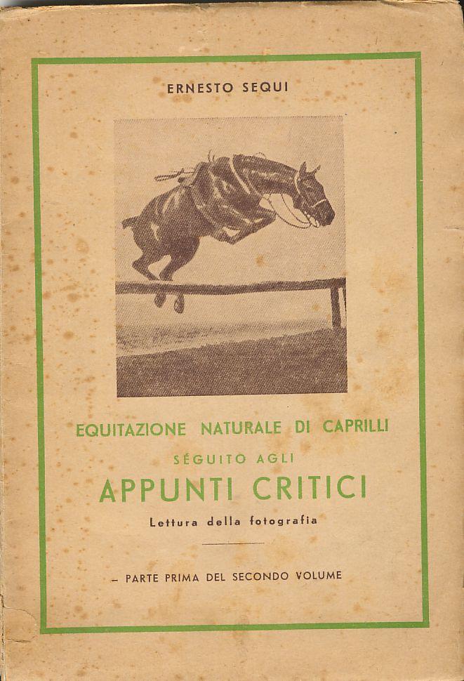 Equitazione naturale di Caprilli