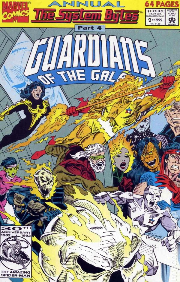 Guardians of the Galaxy Annual Vol.1 #2