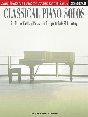 Classical Piano Solos, Second Grade