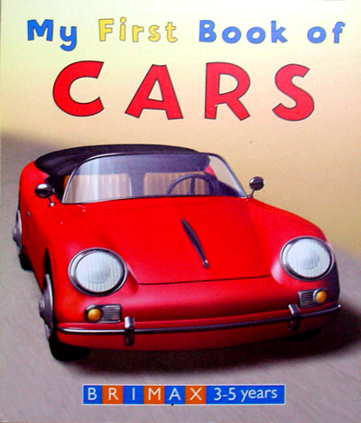 My First Books of Cars