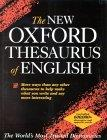 The New Oxford Thesaurus of English.