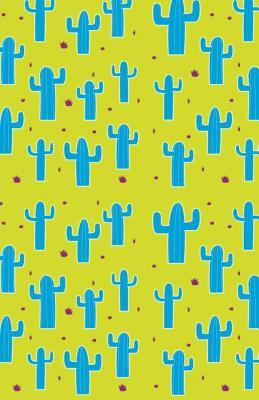 Cute Cactus Dotted Grid Notebook