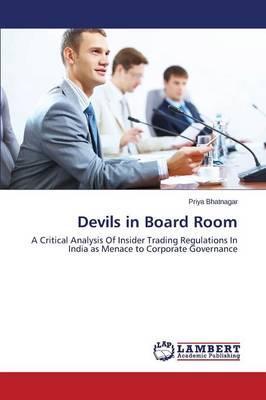 Devils in Board Room