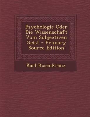 Psychologie Oder Die...