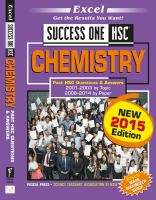 Chemistry: Past HSC Questions & Answers, 2001-2003 by Topic, 2006-2014 by Paper