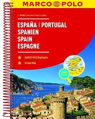 MARCO POLO Reiseatlas Spanien, Portugal 1