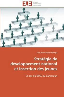 Strategie de Developpement National et Insertion des Jeunes