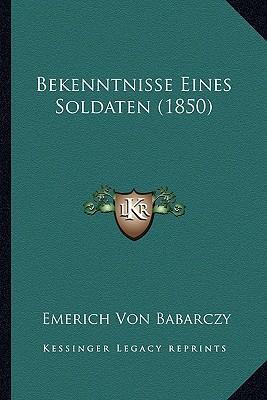 Bekenntnisse Eines Soldaten (1850)